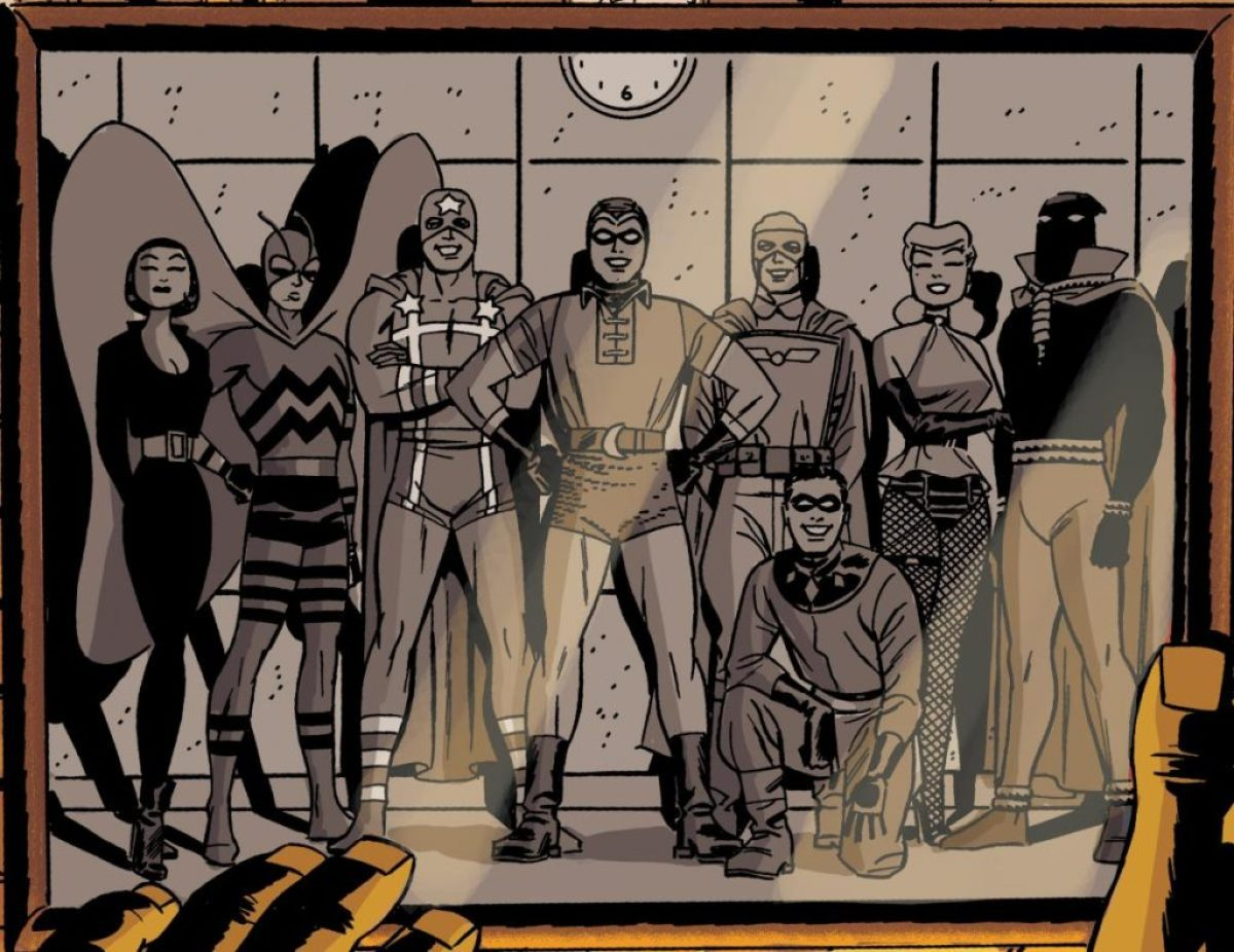 Before Watchmen the Minutemen