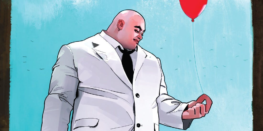 Kingpin in a 5 issue miniseries