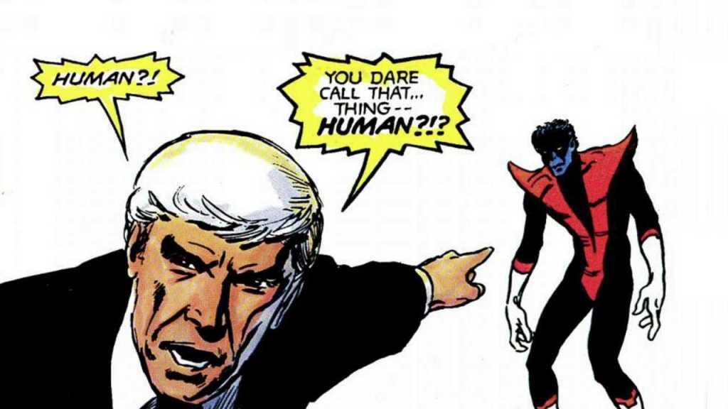 The X-Men in the Marvel graphic novel God Loves, Man Kills