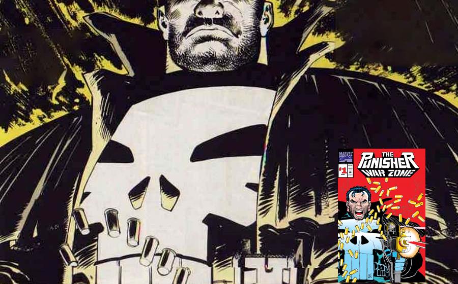 Punisher War Zone graphic novel