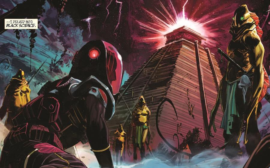 Image Comics Black Science story