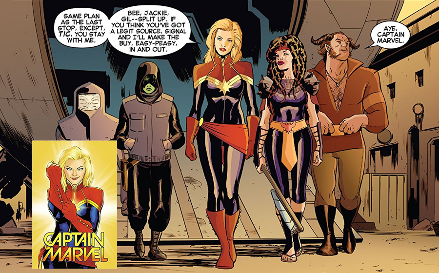 Captain Marvel becomes a fixture of Marvel Cosmic comics