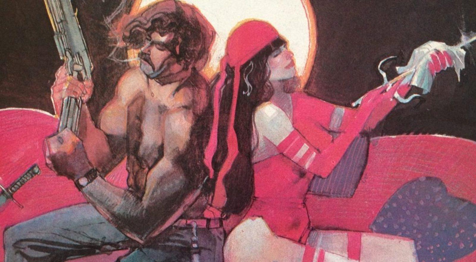 Elektra graphic novel by Frank Miller and Bill Sienkiewicz