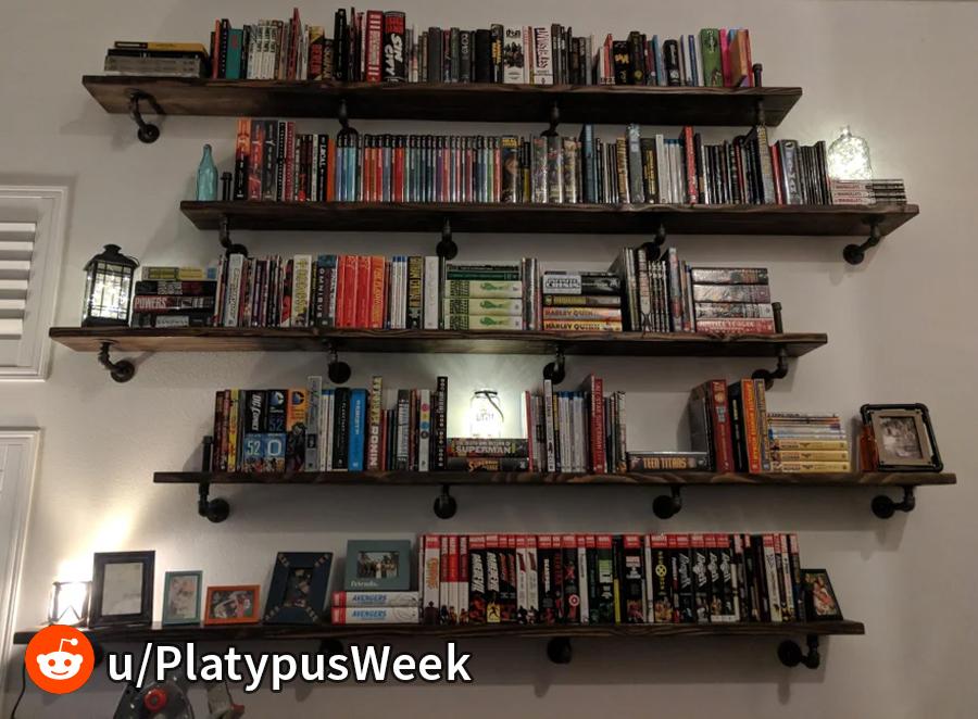 Comic Book Storage shelving