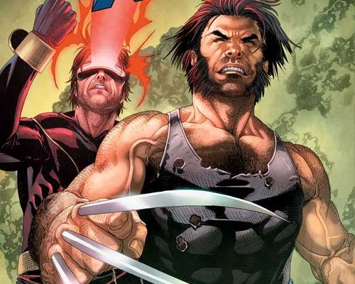 """Wolverine and Cyclops in the """"Last X-Men"""""""