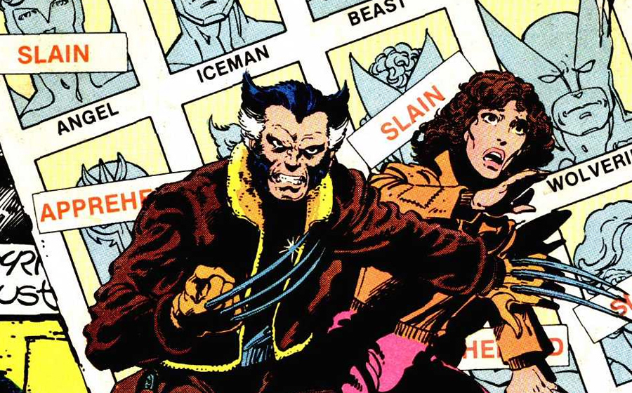 X-Men in Days of Future Past the comic book story