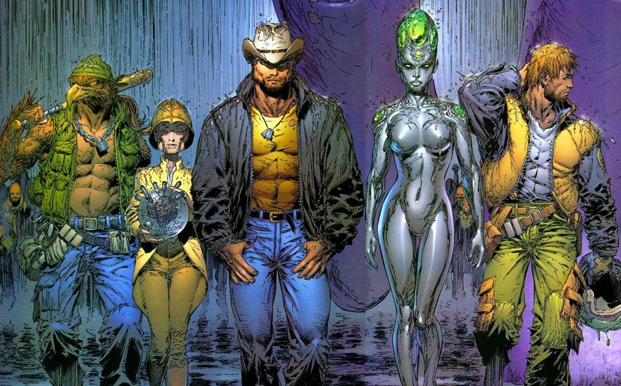 X-Men in Grant Morrison's New X-Men Here Comes Tomorrow story