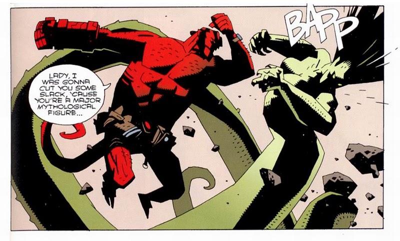 hellboy fighting