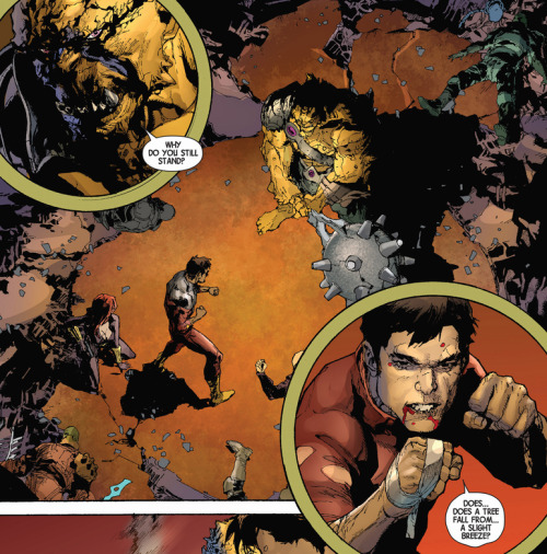 Shang-Chi fights in the pages of the Hickman Avengers run