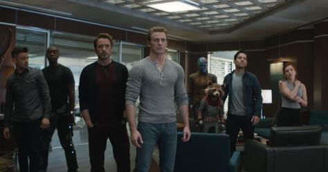 De cast van the Avengers in Avengers Endgame