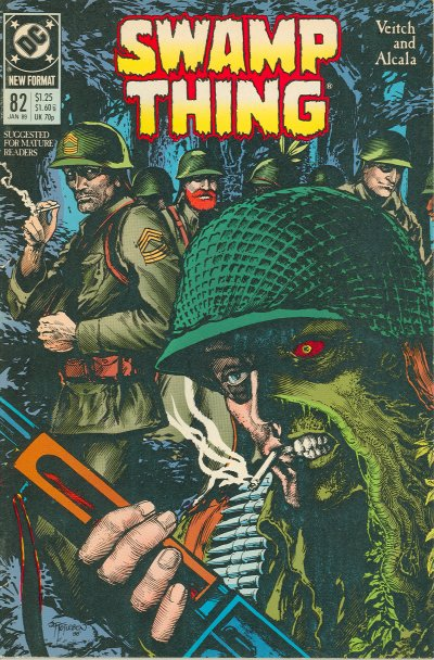 Swamp Thing 82 cover