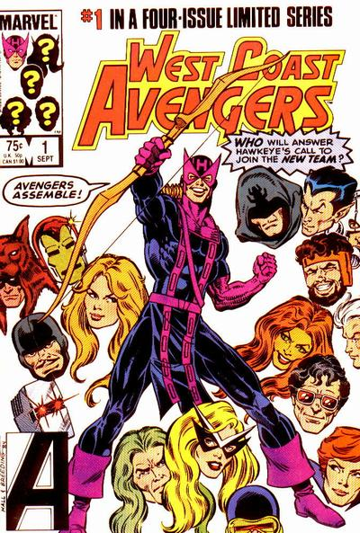 West Coast Avengers (1984) No. 1