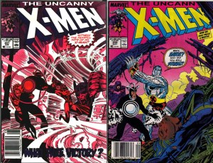 Uncanny X-men 247 and 248