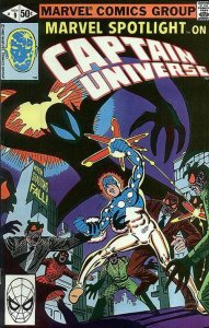 Captain Universe By Ditko