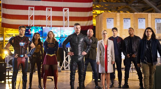Comic Book Noise 755-5: Heroes vs Aliens Part 4: DC's Legends of Tomorrow