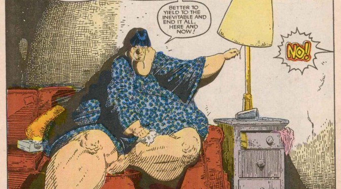 Comic Book Noise 764: Fat Characters (Sort Of)