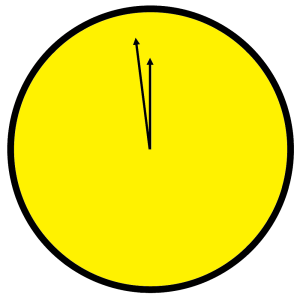 Doomsday Clock from Watchmen
