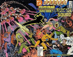 Doom Patrol and Suicide Squad one shot