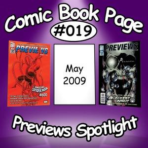 Previews Spotlight #019: 2009-05