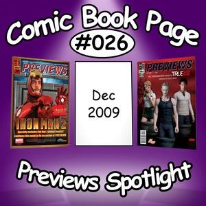 Previews Spotlight #026: 2009-12