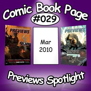 Comic Book Page Previews Spotlight #029: 2010-03