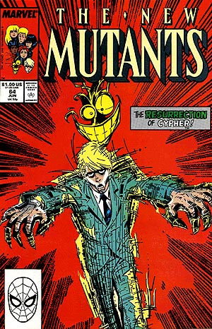 Religion and Characters in The New Mutants vol 1 64 June 1988 Instant Replay
