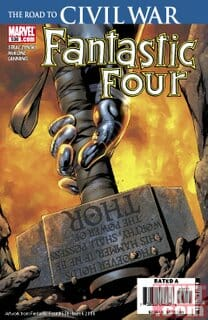 Comic Book Review: Fantastic Four #536: The Road To CIVIL WAR