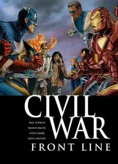 Comic Book Review: Civil War Front Line #1