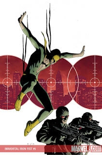 Comic Book Review: Iron Fist #6