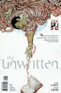 Comic Book Review: The Unwritten #1