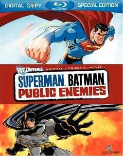 Blu-ray Review: Superman/Batman: Public Enemies