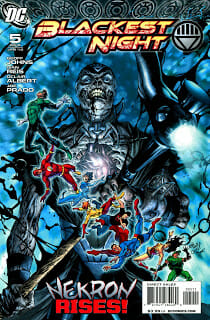 Comic Book Review: Blackest Night #5