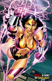 Blackest Night: Wonder Woman 2-6
