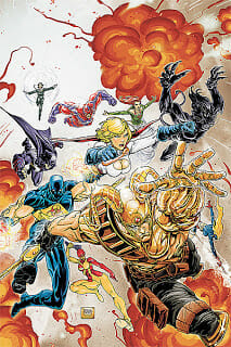New Comic Books For January 6, 2010