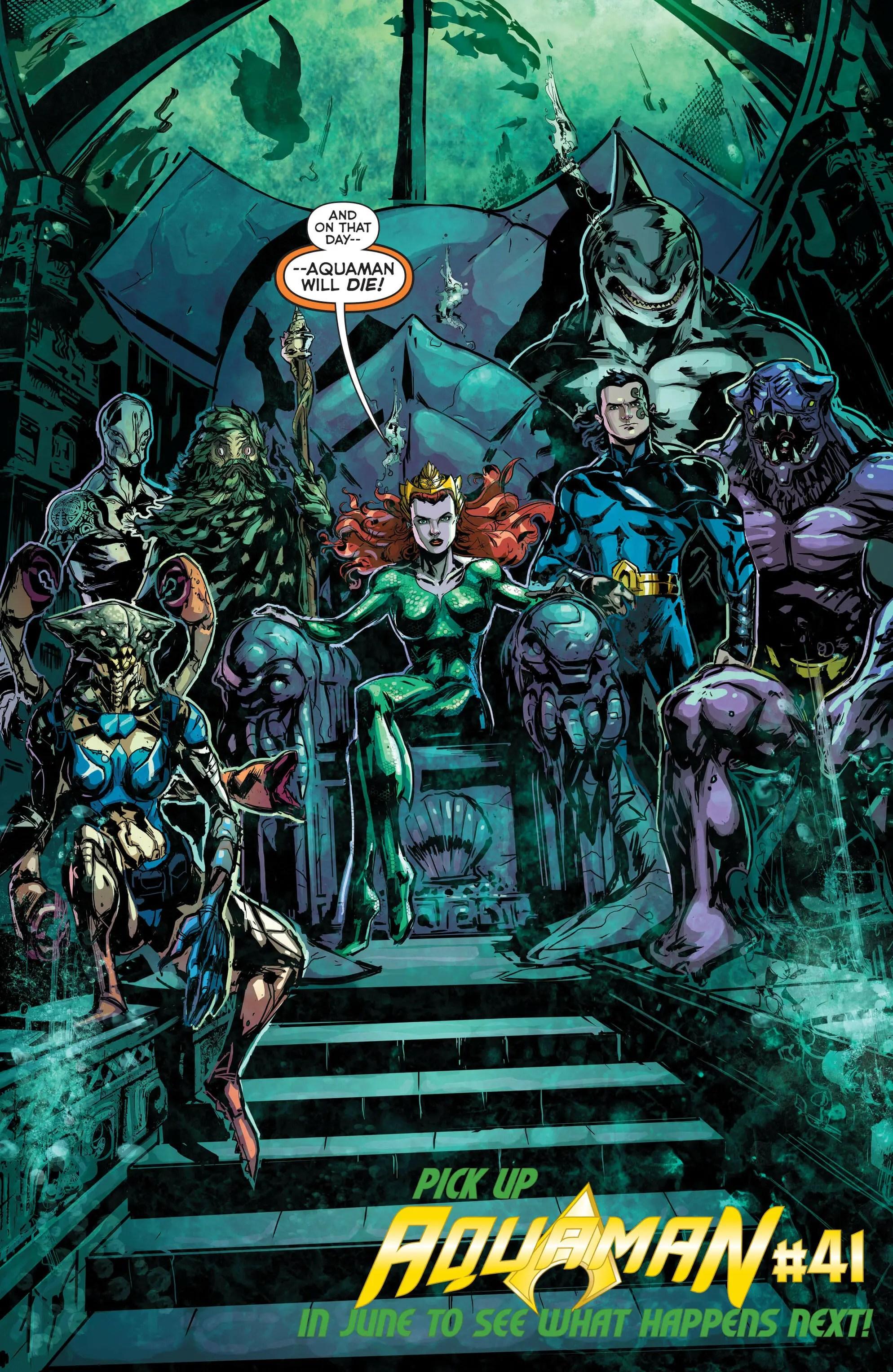 DC Sneak Peek: Aquaman - Comic Book Revolution