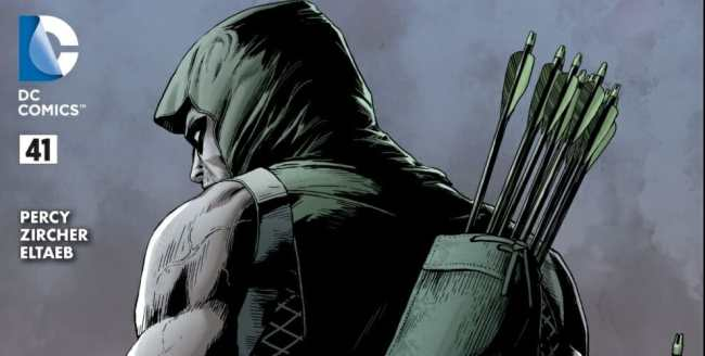 Green Arrow #41 Review Image