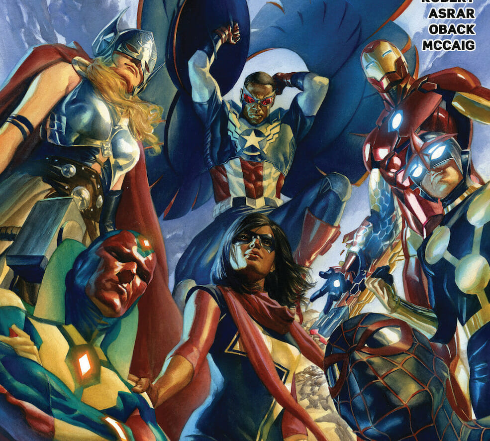 All-New, All-Different Avengers #1