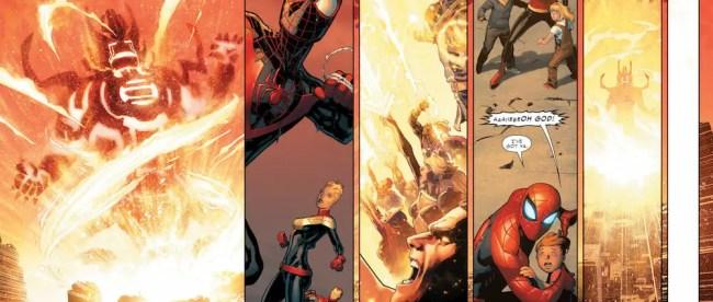 Marvel Comics Civil War II #1