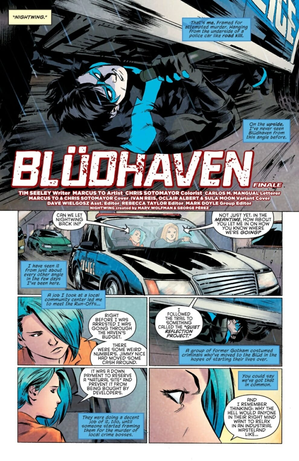 Click for full-page view & Nightwing #14 Spoiler Review - Comic Book Revolution