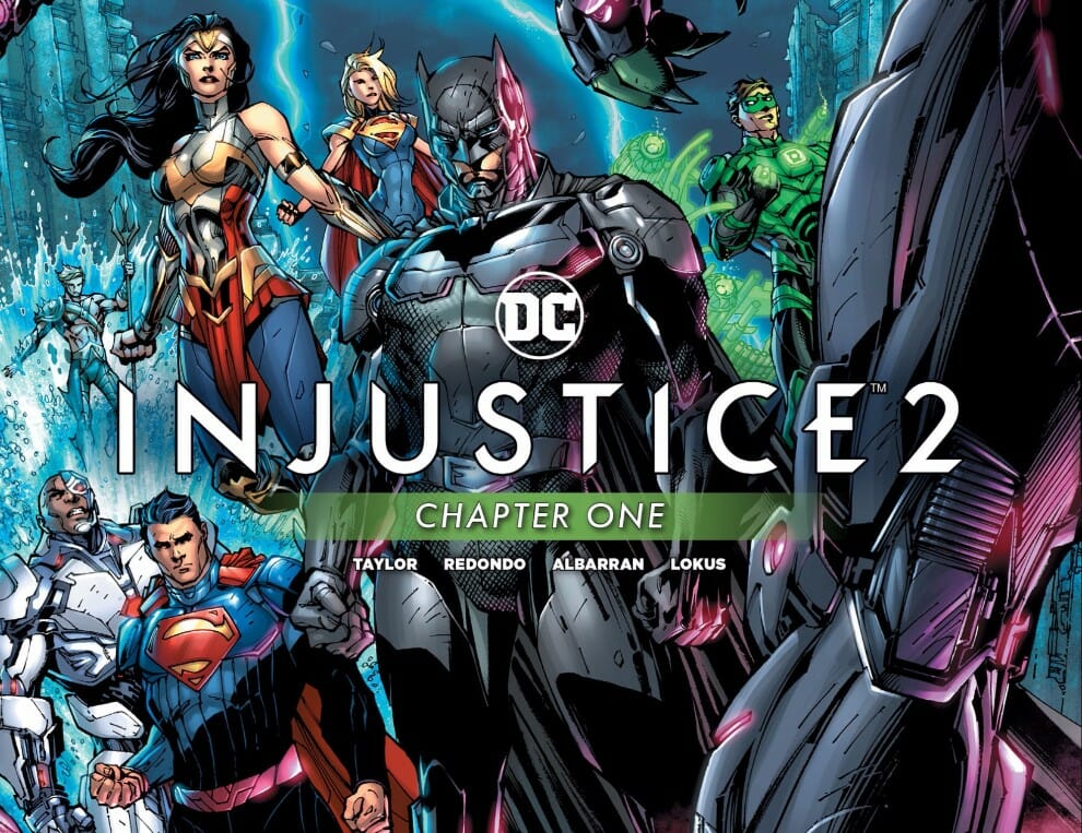 Injustice 2 Chapter #1 Review - Comic Book Revolution
