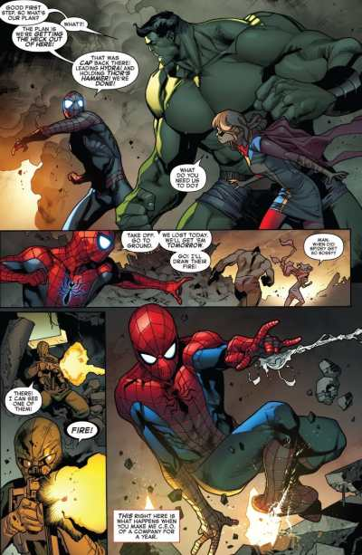 Amazing Spider-Man #30 Moment
