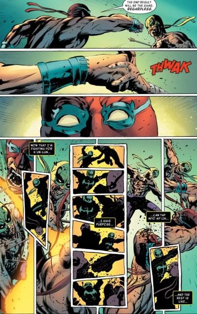 Iron Fist #5 Moment