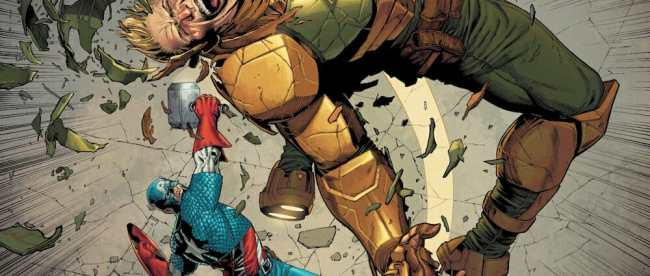Captain America #10 Review