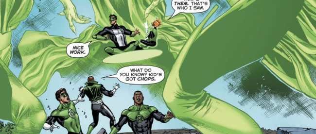 Hal Jordan And The Green Lantern Corps #34 Review
