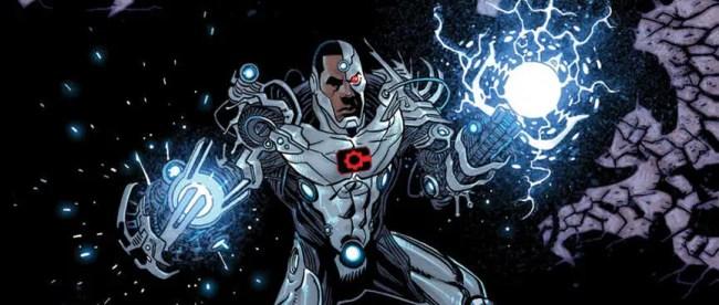Cyborg #21 Cover