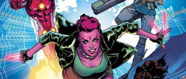 Exiles #1 Cover