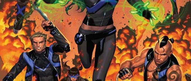 X-Men: Blue #25 Cover