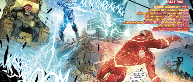 DC Comics The Flash #40 Review