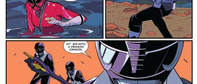 Mighty Morphin Power Rangers #26 Review
