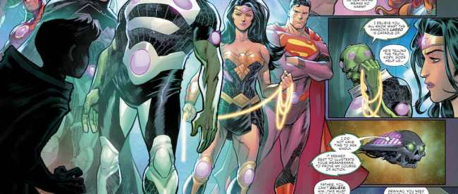 DC Comics Justice League: No Justice #1 Review